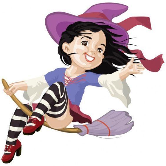 dibujos de brujas a color , Buscar con Google