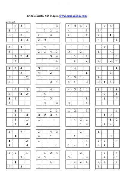 grilles-sudoku-4x4-niveau-moyen-6                                                                                                                                                     Plus