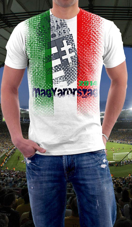 Hungary soccer shirt