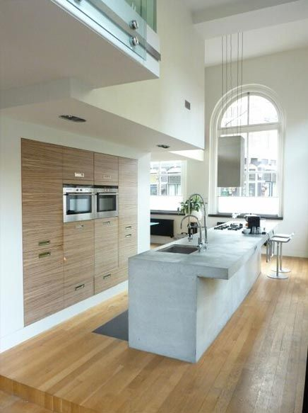 Kitchen space cocina luxe eigentijds en sfeervol loft - Interieur design loft futuriste rado rick ...