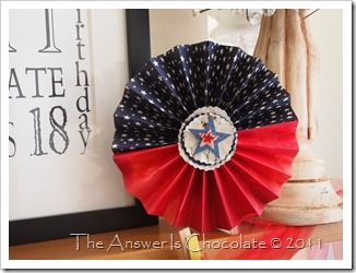 Patriotic Paper Pinwheels