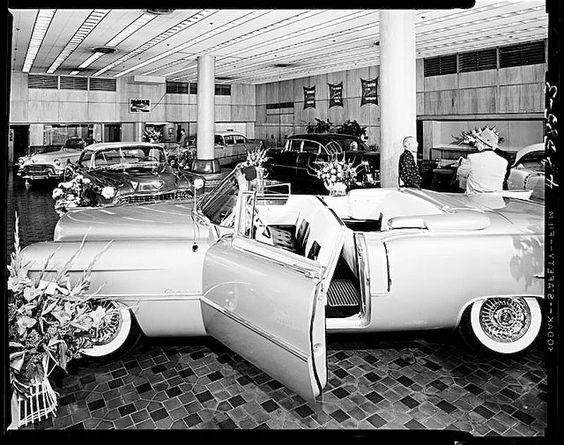 (4) Vintage Automobile Dealerships and Automobilia