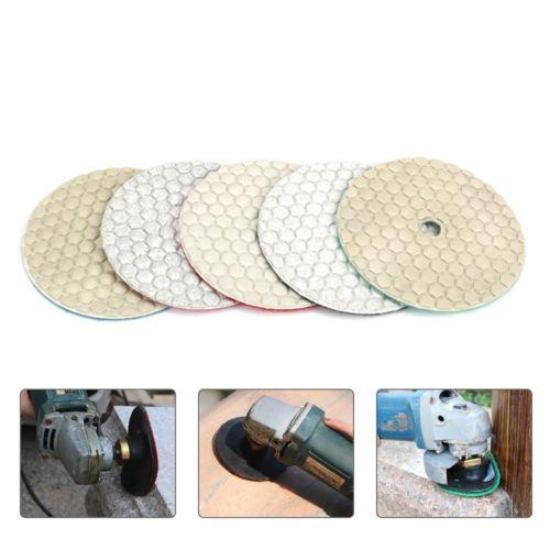 6pcs 80mm Dry Diamond Polishing Pads Disc Buffing Marble Granite Stone 0 5 New Ebay Link Granite Stone Marble Granite Buffing Pads