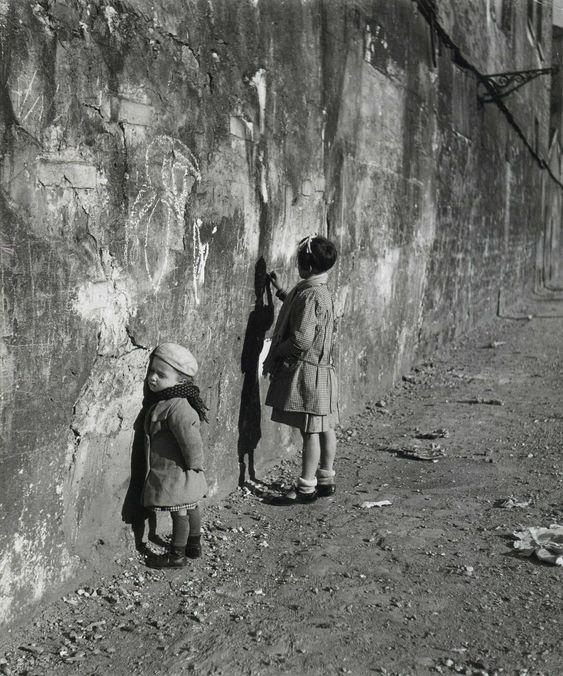 Robert Doisneau // Children - La première maitresse, Paris 1935