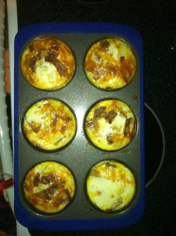 Omelet muffins-they were so good!!