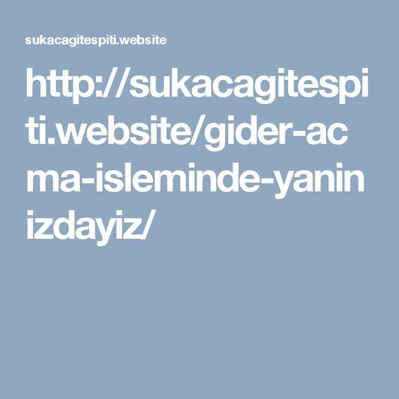 http://sukacagitespiti.website/gider-acma-isleminde-yaninizdayiz/