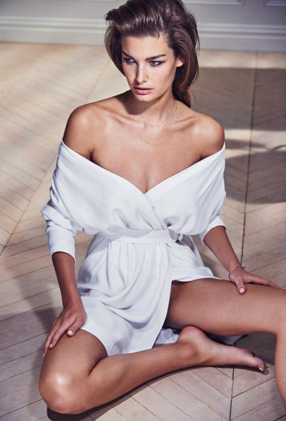 Ophélie Guillermand by Chris Colls for Porter Magazine #8 Summer 2015 | Fashion photography | Editorial