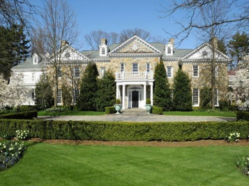 Stunning Stone Georgian Mansion In Mid Country Greenwich