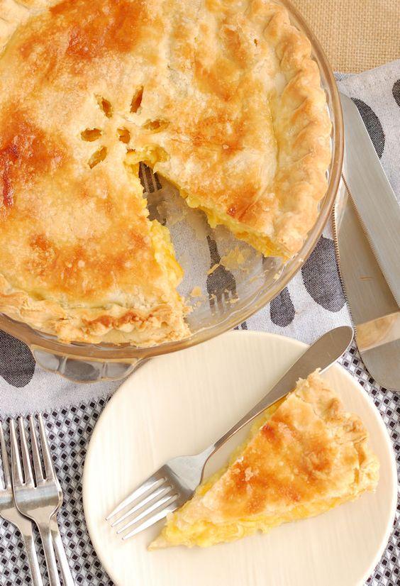 Meyer Lemon Shaker Pie | Recipe | Baking, Pies and Lemon