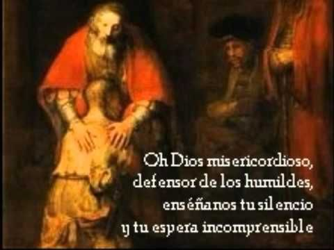 El Verbo Santo es mecido en los brazos de una Virgen;  el Creador se hace niño y al par de nosotros gime. Oh Salvador encarnado, que entre los hombres pervives, quiero adorarte en los hombres y entre los hombres servirte