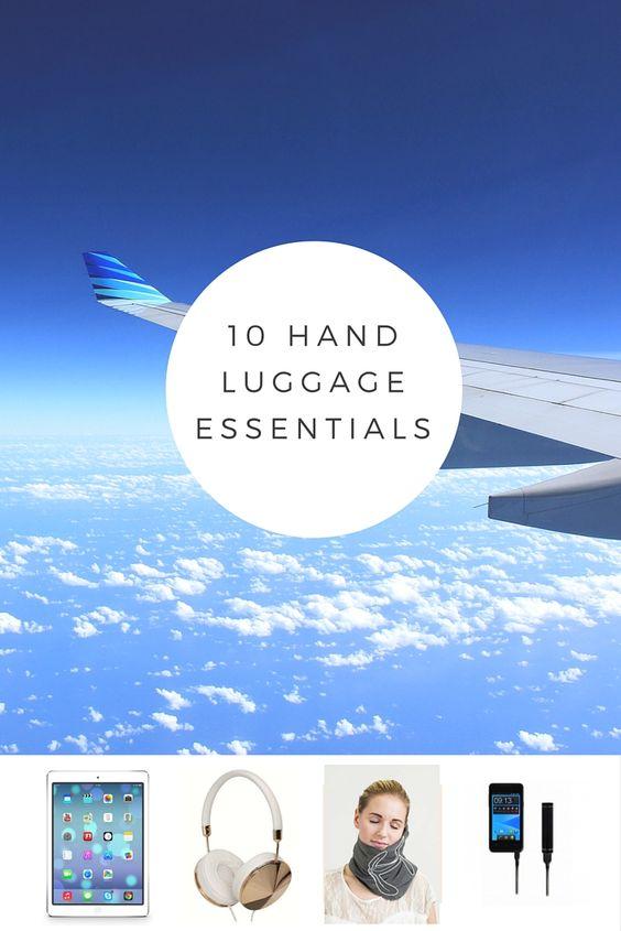 10 hand luggage essentials