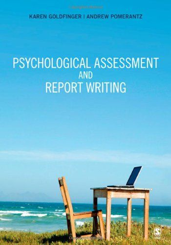 Psychological Assessment and Report Writing Fav Production - psychological report