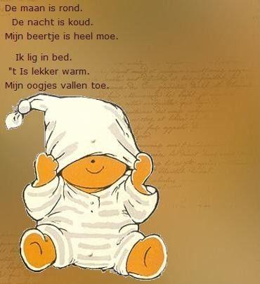 KK Licht & Donker/ Dag & Nacht: Versje slapen