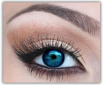 Makeup Tips For Blue Eyes. Pin now, read later