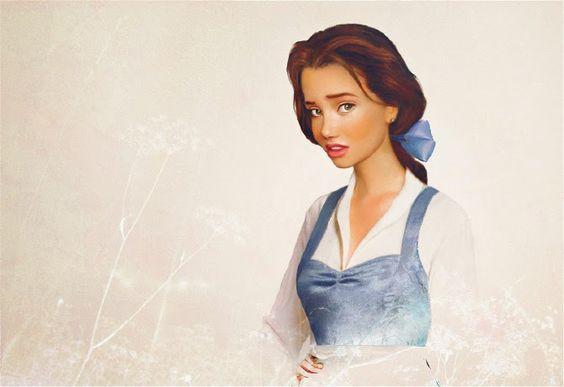 Princesas de Disney Fotorrealistas