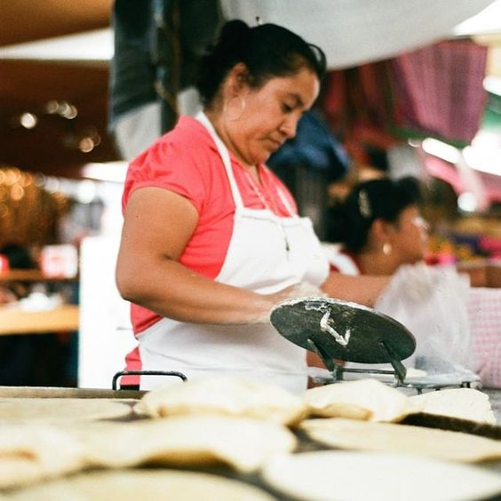 Food market in Mexico by foodcrafters.org