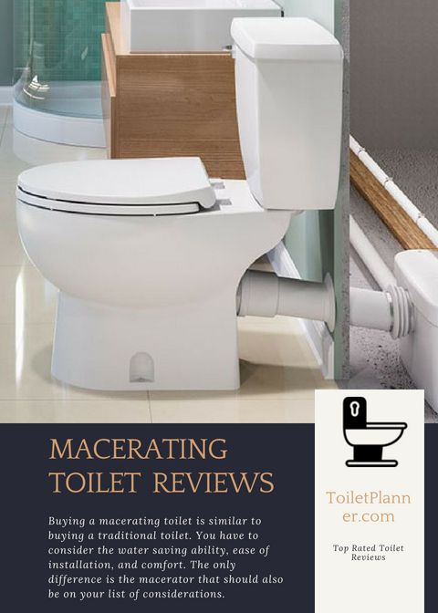 5 Macerating Toilet Reviews 2018 Upflush Toilet If You Need To Add A Bathroom In An Unusual Location E G In The Basem Upflush Toilet Toilet Add A Bathroom