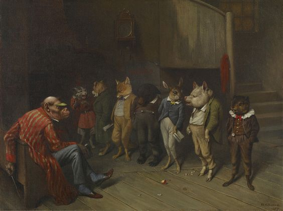 William Holbrook Beard: School Rules, 1887:
