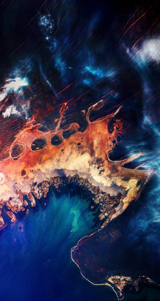 Wallpapers Of The Week Satellite Imagery Earth Art Australia Wallpaper Background