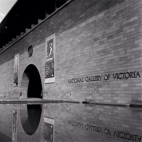 National Gallery of Victoria, Melbourne, Australia. Sir Roy Grounds, 1968.