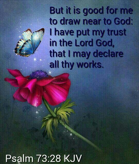 Psalm 73:28 King James KJV