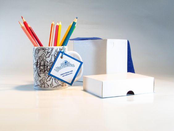 Descubra como usar com criatividade suas canecas! Personlize it :)