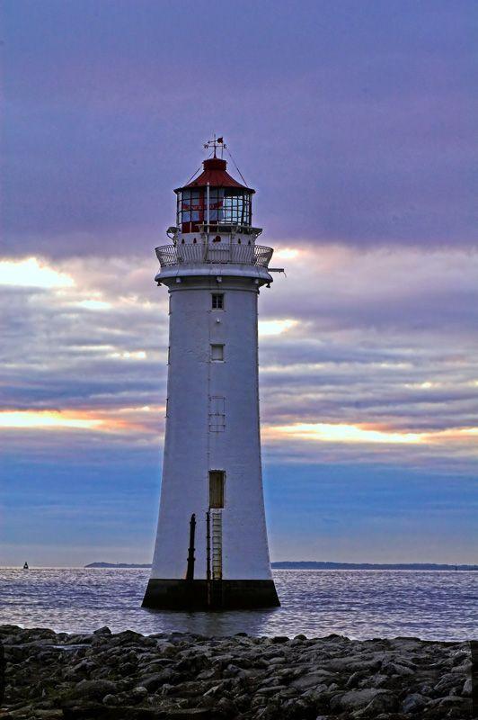 Lighthouse, Merseyside England