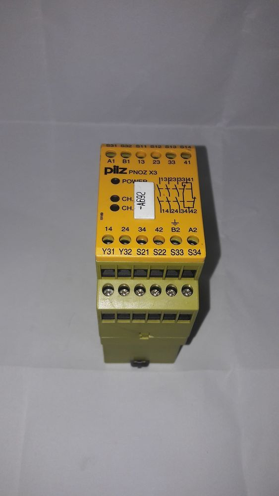 Pilz Pnoz X3 Safety Relay Dual Channel 3s 1o Pnozx3 Pilz Ebay Usb Flash Drive Flash Drive