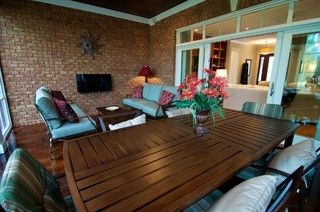 Urban Fusion - eclectic - porch - raleigh - by Blue Sky Building Company