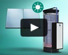 AuroSTEP plus le chauffe-eau solaire individuel autovidangeable de Vaillant