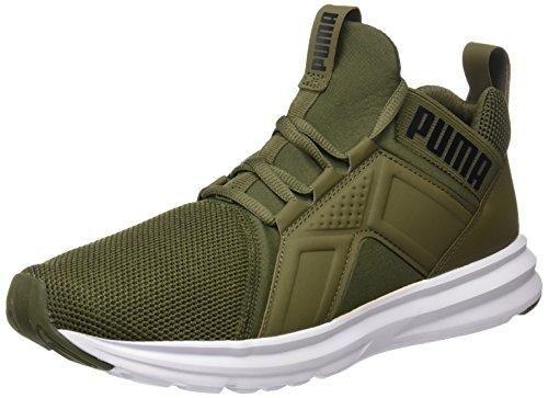 tenis puma verde militar