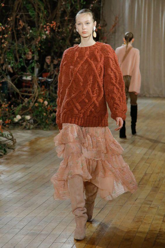 Ulla Johnson коллекция | Коллекции осень-зима 2017/2018 | Нью-Йорк | VOGUE
