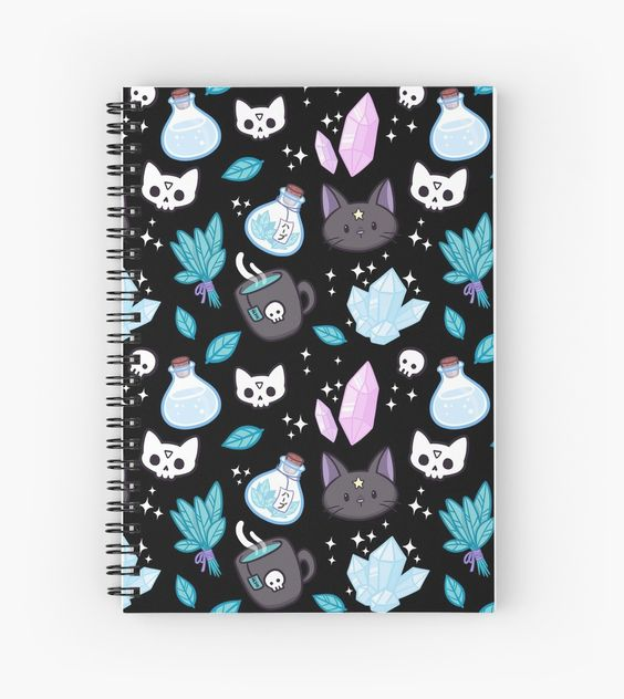 ☆ Magical witch pattern • Also buy this artwork on stationery, apparel, stickers, and more.