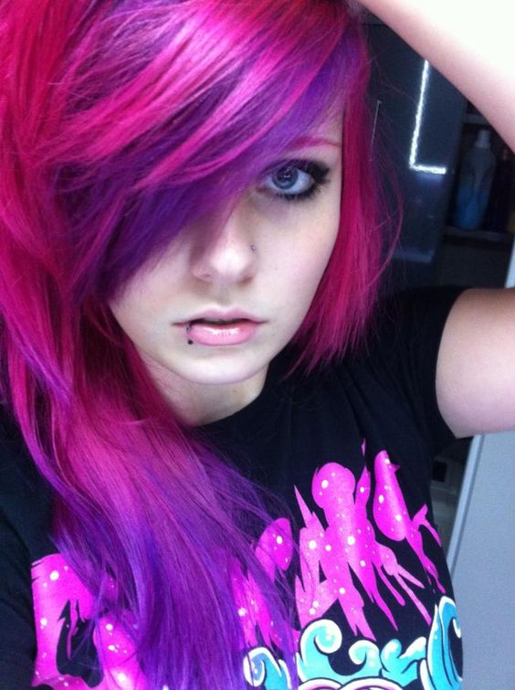Purple Hair Cheshire Cat And Hair On Pinterest