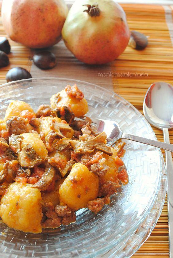 gnocchi di zucca morbidi, ricetta Persegani