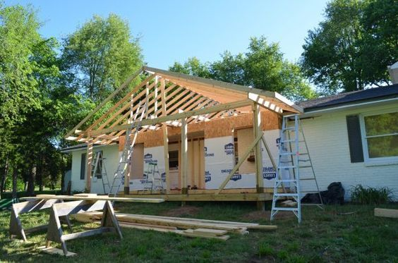 Adding A Front Porch To A Brick Ranch House Front Porch Ranch House Remodel Ranch Style Homes