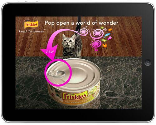 Friskies interactive