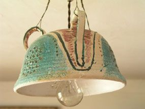 Image of lampshade - Quentin Bell, Charleston