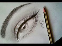 كيفية رسم العيون وضبطها بشكل متشابه بالرصاص مع الخطوات للمبتدئين Youtube Sketches Bullet Journal Writing Art