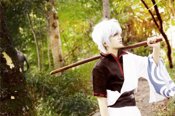 Reshika Takegami(MurMur) Gintoki Sakata Cosplay Photo