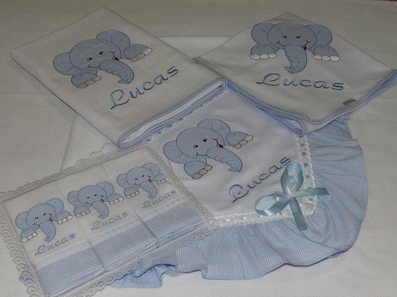 Kit tema urso príncipe composto por :  01 manta de microsoft 90 x 1,00  01 toalha fralda 70 x 1,40  01 cueiro de flanela 80 x 80  03 fralda de boca 35 x 35 cada