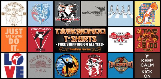 TAEKWONDO T-SHIRTS • MARTIAL ARTS TEES • COOL DESIGNS • FREE SHIPPING – Rhino Junction T-Shirts