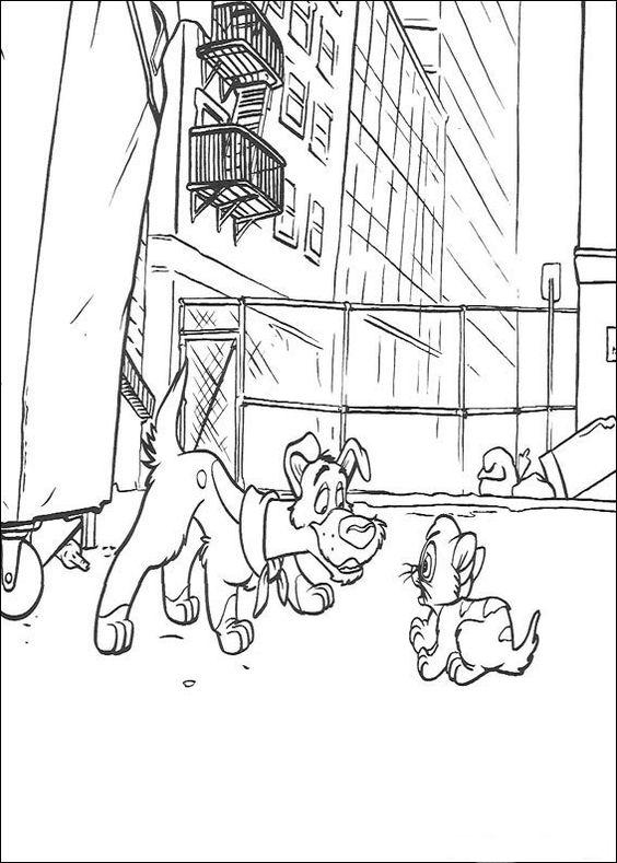 Oliver og Gjengen Fargelegging for barn. Tegninger for utskrift og fargelegging nº 6