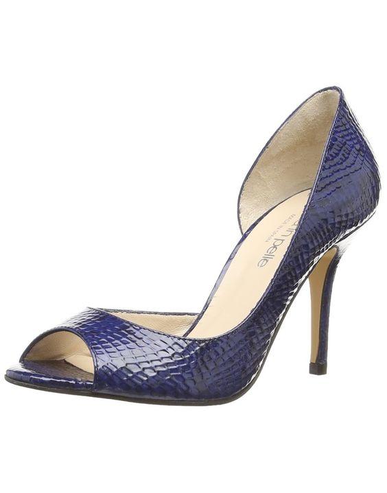 moda in pelle caterina escarpins salomes femme amazonfr chaussures et sacs