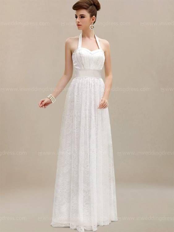Wedding Dress Styles Halter In 2020 Lace Beach Wedding Dress Beach Style Wedding Dresses Halter Wedding Dress