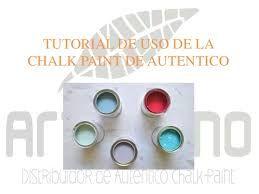 Resultado de imagen de autentico chalk paint