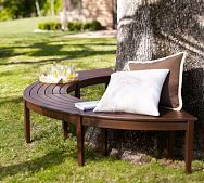 I want 2 of these around the oak tree in my back yard: Garden Ideas, Front Yard, Backyard Tree, Bench Around Trees, Tree Bench