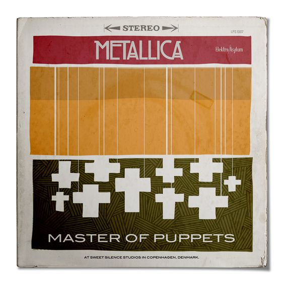 Metazz: Metal Album Covers Redesigned on Behance