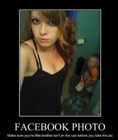 Best Babysitter Ever In This Picture: A Photo of self picture photobomb