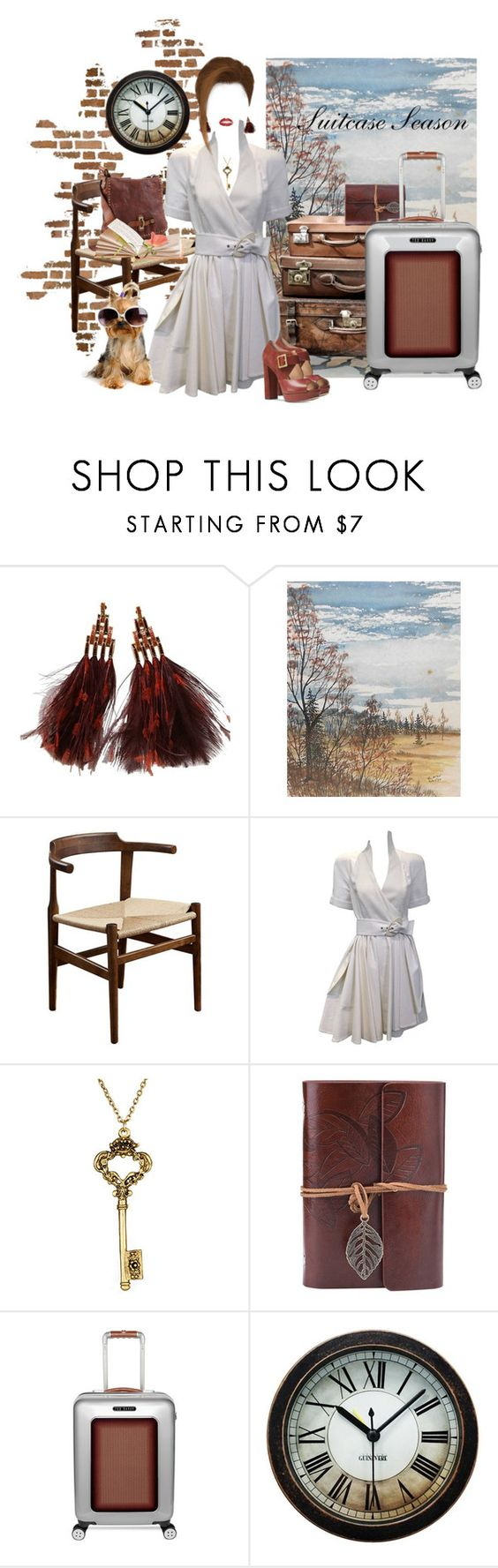 """""""Suitcase Season"""" by neicy-i ❤ liked on Polyvore featuring interior, interiors, interior design, home, home decor, interior decorating, Louis Vuitton, Universal Lighting and Decor, Thierry Mugler and Campomaggi"""